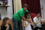 Обучение незрячих массажистов. Тайский массаж