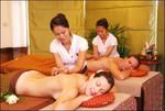 Тайский массаж локтями. Школа СИАМ