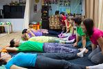Урок тайского массажа в школе СИАМ