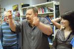 Александр Сыромятников в школе СИАМ
