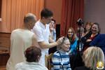 Олег Хазов в школе СИАМ