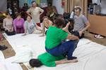 Открытый урок тайского массажа в школе СИАМ